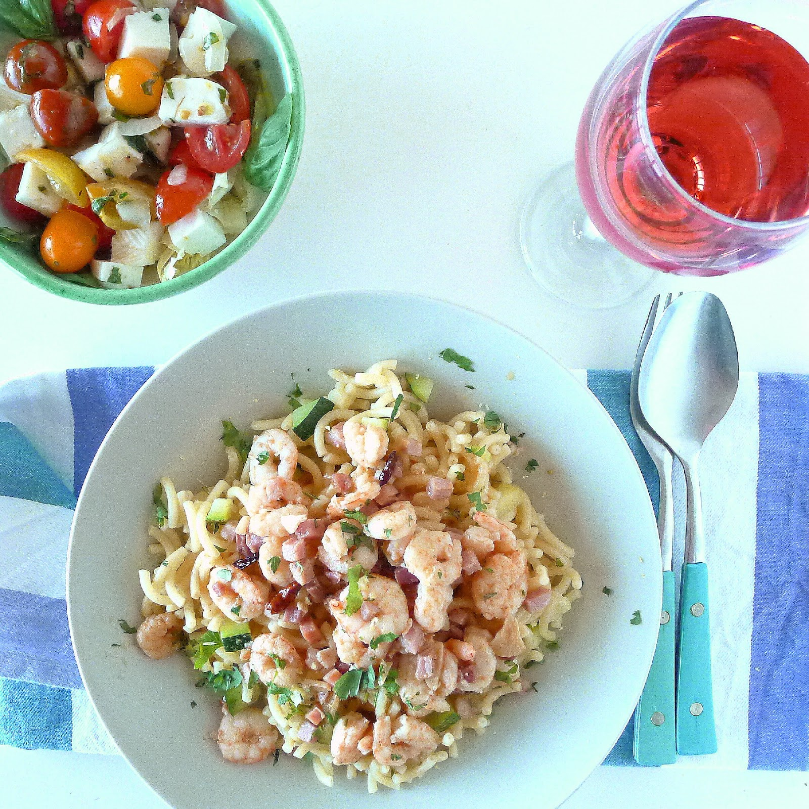 MY KITCHEN IN SPAIN: FAST FOOD FOR SUMMER, MENU 2