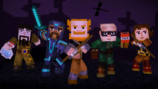Minecraft Story Mode : A Telltale Games Series