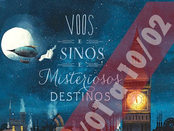 Resultado: Sorteio de Voos e Sinos e Misteriosos Destinos, de Emma Trevayne e Editora Seguinte