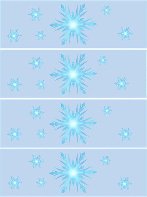 Etiquetas de Cumpleaños de Frozen para imprimir gratis.