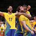 Brasil bate Itália e volta ao topo olímpico após 12 anos