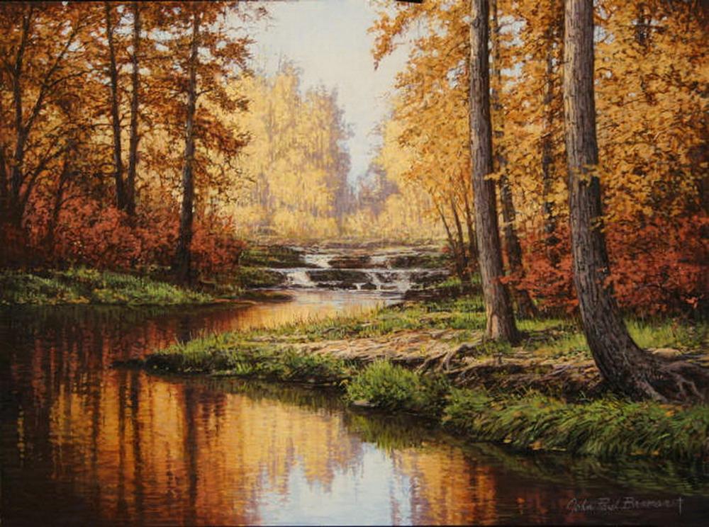 Im genes arte pinturas vistosos paisajes boscosos pintor - Fotos y cuadros ...