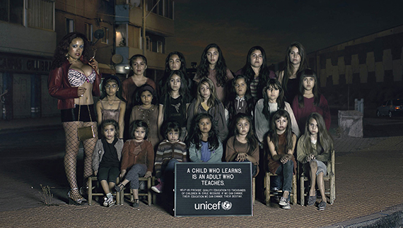Green Pear Diaries, publicidad, advertising, UNICEF