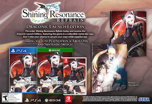 The Qwillery: Shining Resonance Refrain Coming to the West