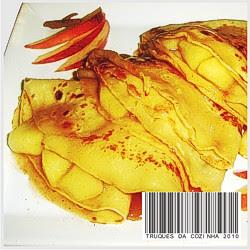 Crepe de maçã com canela