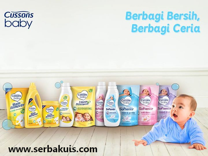 Kontes Cussons Baby Berbagi Bersih Berhadiah 20 Paket Produk