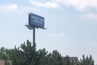 Chicago area Pro-Life Billboard could be seen by millions