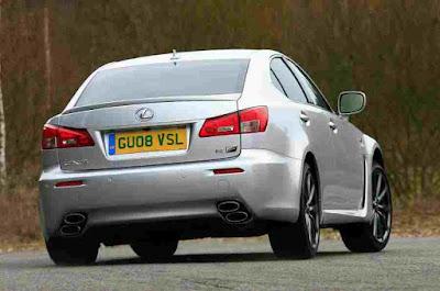 Rear Photos of Lexus IS-F Cars 2008-2012