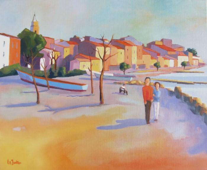 Французский художник. Jean-Noel Le Junter