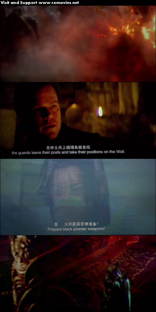 The Great Wall 2016 English HDCAM 700MB