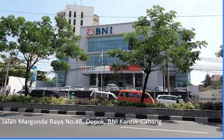 Disini Kantor Cabang Bank Bni Terdekat Kota Depok