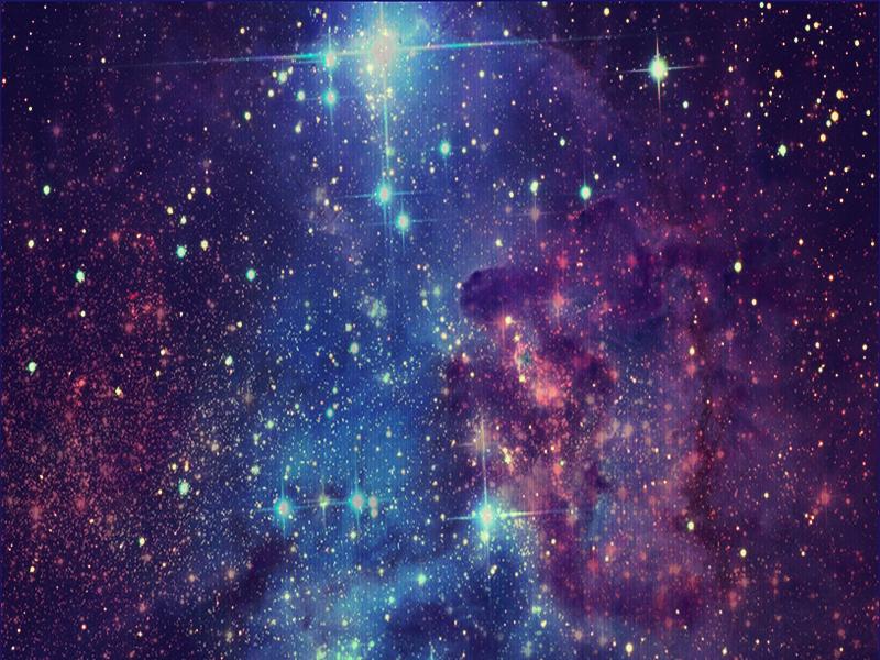 Rebecca Nobre .: Tutorial Photoshop: Efeito Galáxia