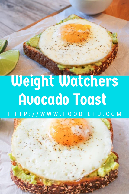 Weight Watchers Avocado Toast