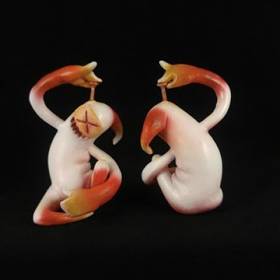 Veris Candy Corn Edition Resin Figure by Shadoe Delgado
