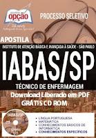 Apostila IABAS São Paulo Técnico de Enfermagem (Grátis Testes)
