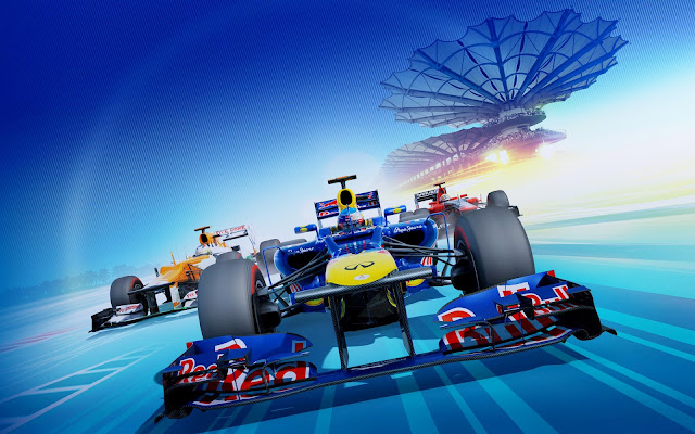 f1 2012 video game como papel de parede