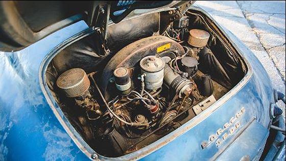 El coche clásico cuenta con el motor original de 1.6 litros
