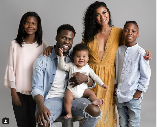 Kevin Hart shares adorable family photo to celebrate clocking 39-years