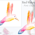 ↣ FREE Doodle - Watercolor Bird Clipart