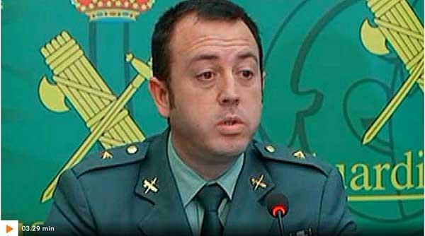 Vídeo operación Nemo, rueda prensa Guardia Civil