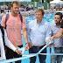 Scioli y Cascallares inauguraron natatorio municipal