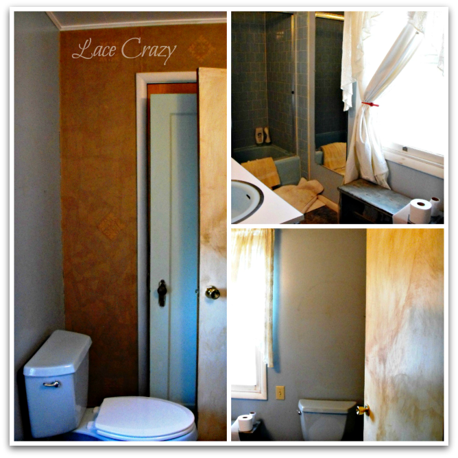 Lace Crazy: Old House Bathroom Remodel~