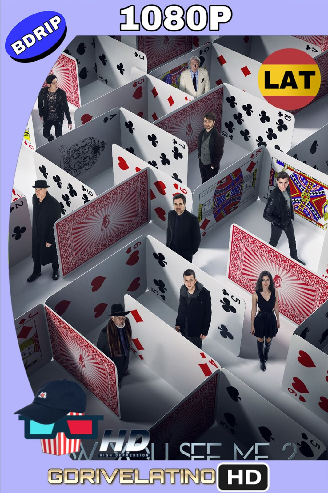 Los ilusionistas 2 (2016) BDRip 1080p (Latino – Inglés) MKV