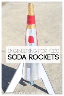 DIY Soda Rocket