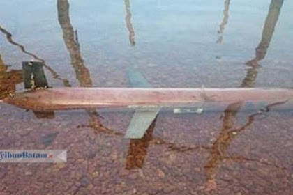 Heboh! Drone Laut Milik China Mirip Torpedo Ditemukan Nelayan Bintan