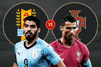 Live Streaming Uruguay vs Portugal Piala Dunia 1.7.2018