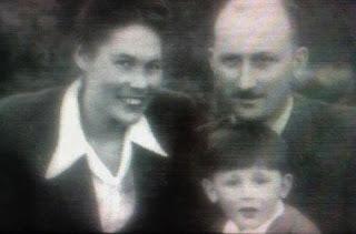 Aldona, Aldona, Maks  Rymsza z synem Wiesławem - przed aresztowaniem - 1948