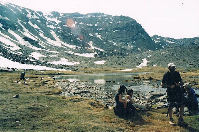 La Laguna Hondera i jezioro pod Mulhacenem