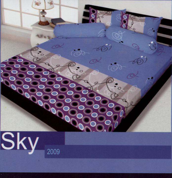 Sprei California SKY By My Love Ko Line Bed Cover Murah Jual