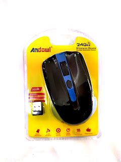 mouse wireless senza fili 2.4ghz andowl an 211