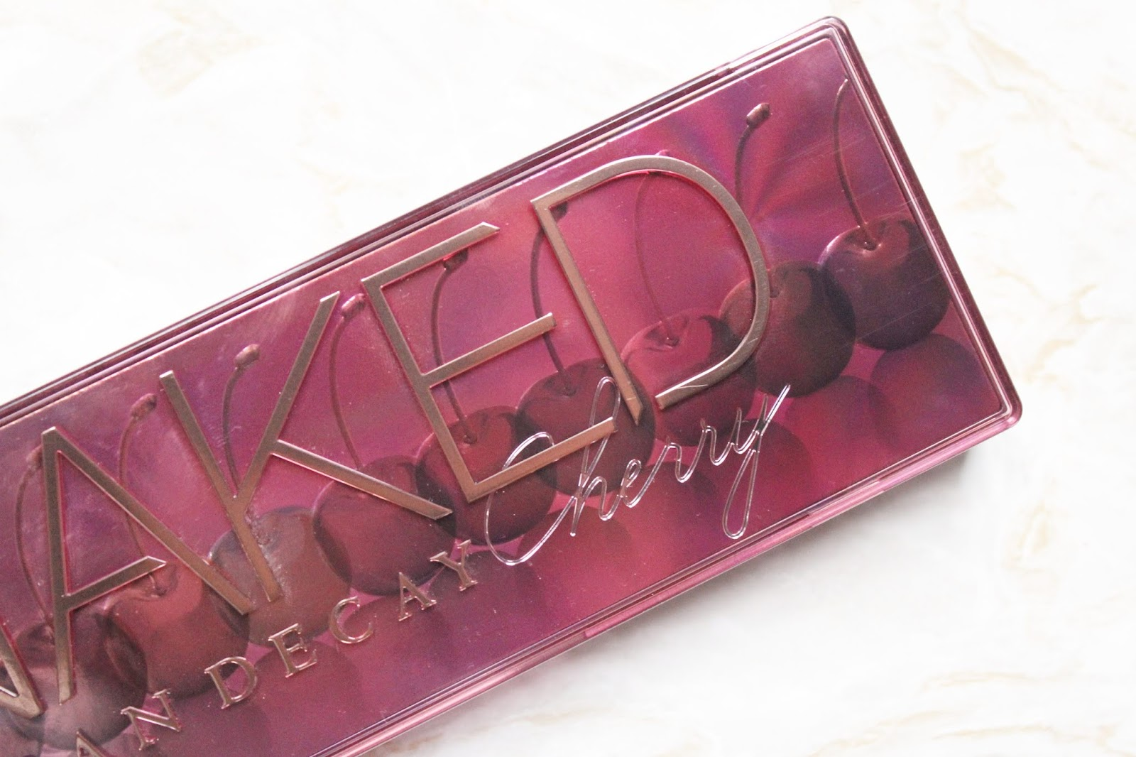 Urban Decay Naked Cherry Palette Review