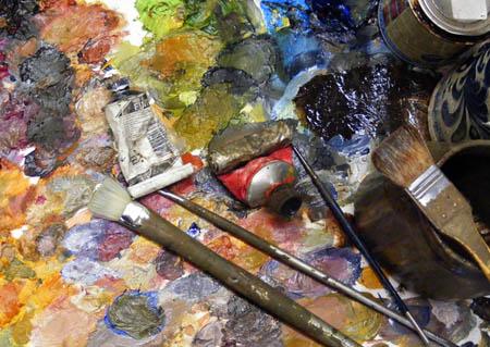 Art classes in south Dublin Learn paint oils alla prima wet into wet style.