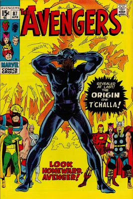 Avengers #87, the origin of the Black Panther revealed
