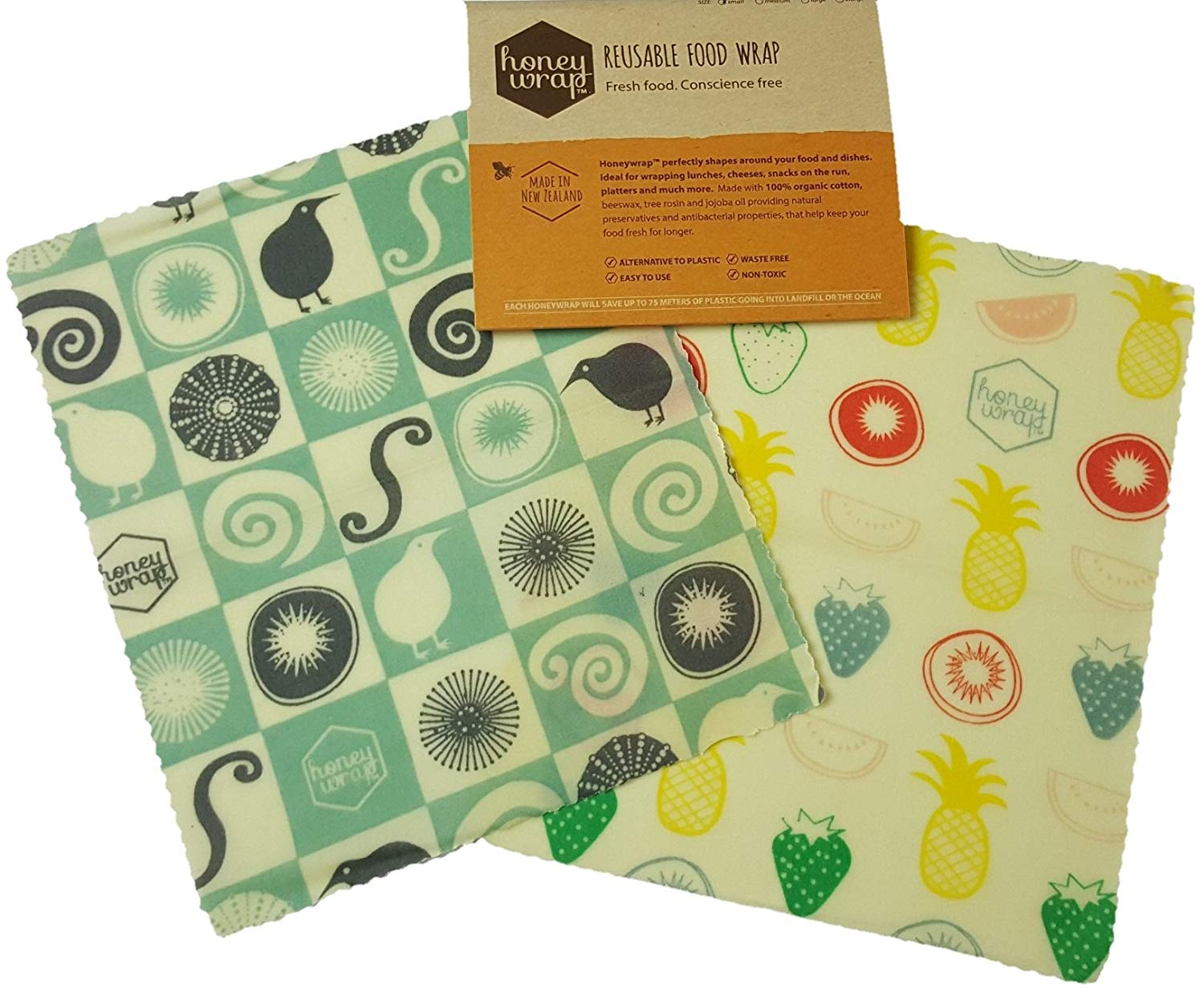 Honeywrap Beeswax Food Wrap