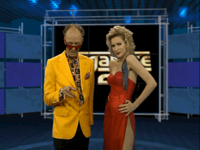 Screenshot from MegaRace 2 of Lance Boyle
