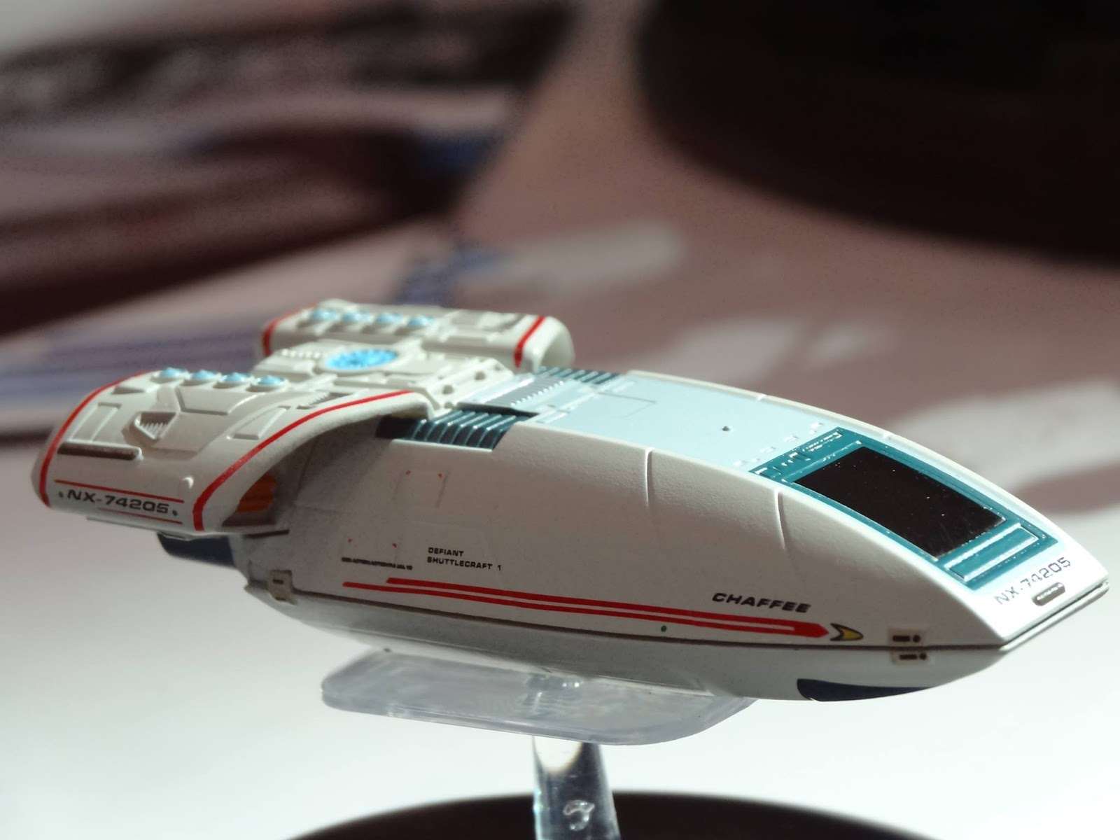 the trek collective starships collection s shuttlecraft arrive