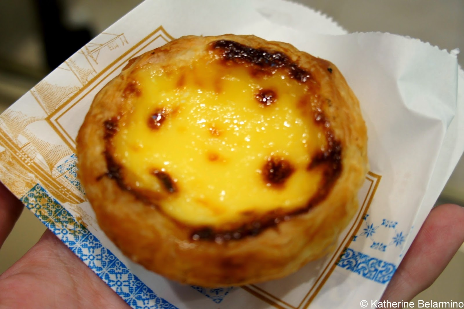 Lillian Bakery Egg Tart Shanghai China