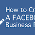 Setting Up A Business Page On Facebook