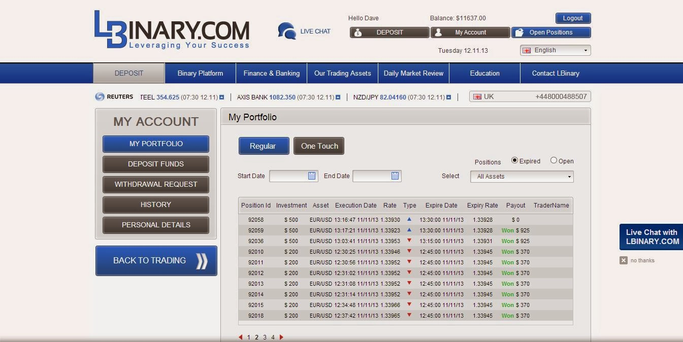 Getting rich off binary options
