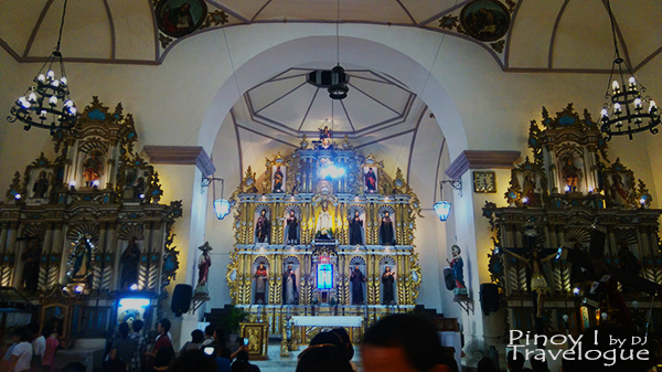 Interiors of Tanay Church