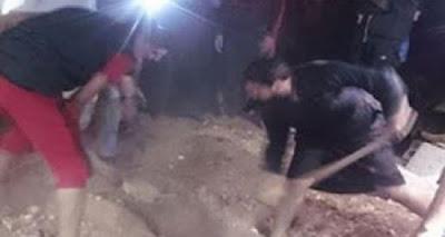 #شاهد  فتحوا قبر امرأة بعد سماع صوت داخله في الأردن فكانت مفاجأة غير متوفعة في انتظارهم !!