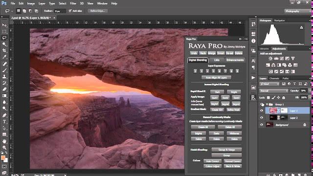 Raya Pro 3.0 Photoshop Panel