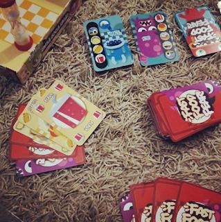 Fast Food Fear tutorial y bases del juego de mesa niños familia