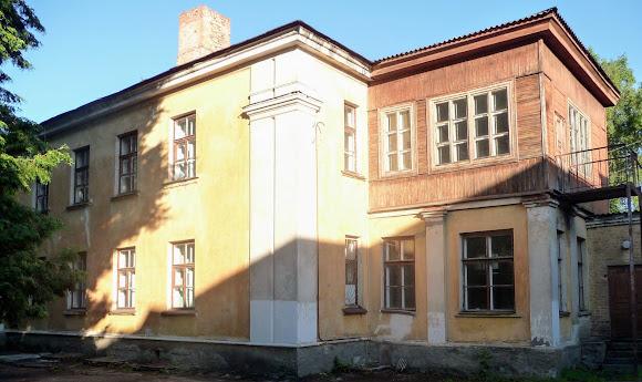Конотоп. Железнодорожная больница. Детская поликлиника