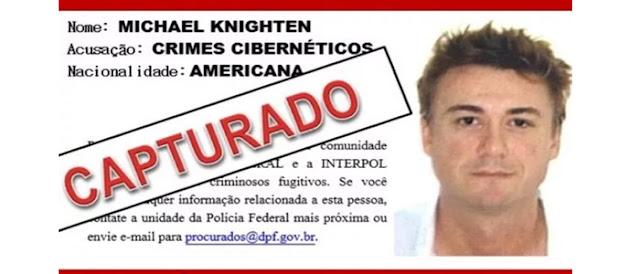 Cracker que vivia uma vida de luxo no Brasil, é preso pela Polícia Federal.