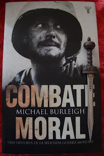 Portada del libro Combate moral, de Michael Burleigh